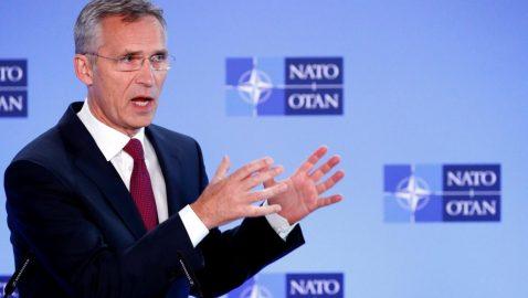 Столтенберг с трибуны Рады призвал Россию уйти из Крыма