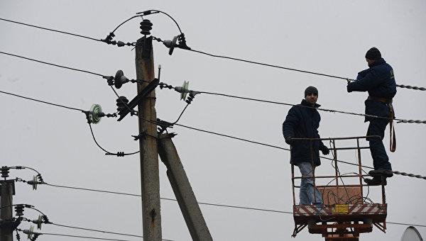 Энергетики ДНР переведены на усиленный режим работы из-за штормового предупреждения