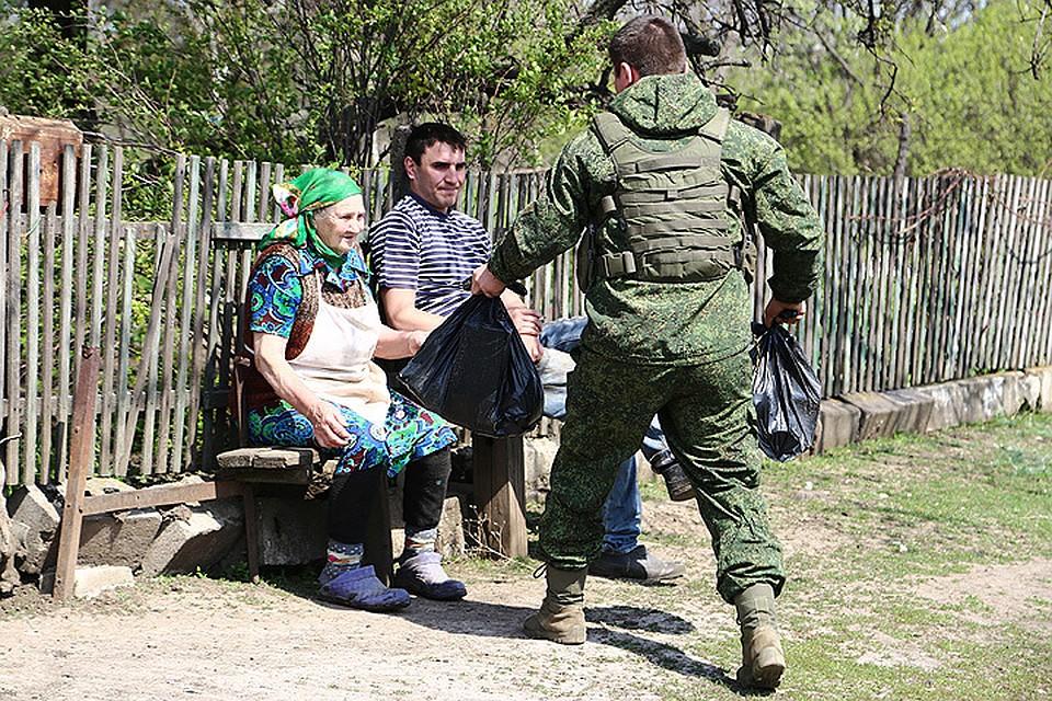 Как живут старики на окраине Горловки под постоянными обстрелами ВСУ