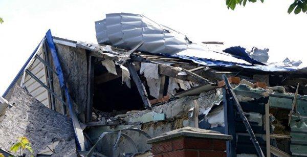 дом,разрушенный