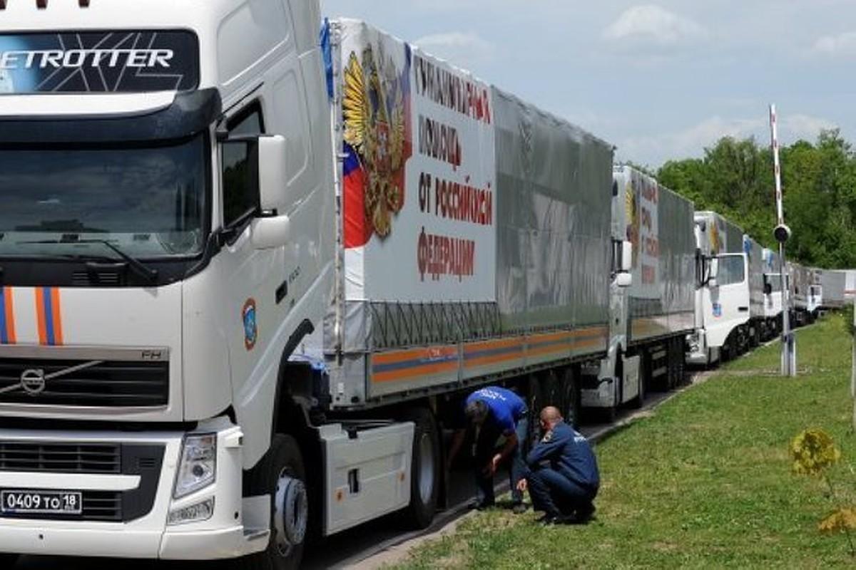 На Донбасс прибыл 90-й гумконвой России — за 5 лет доставлено уже 80 тысяч тонн помощи