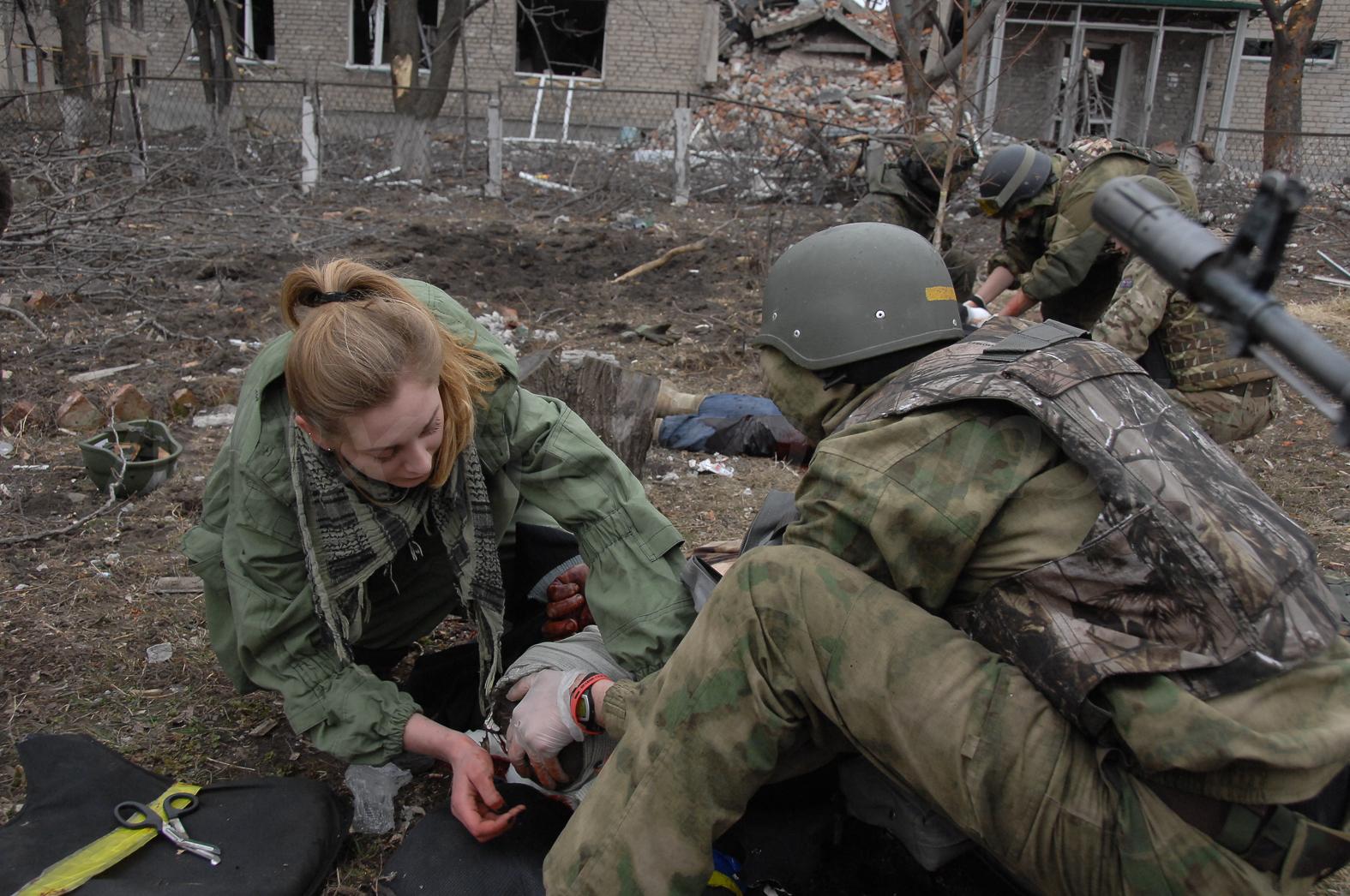 Во время постановочной перестрелки погибли мирный житель и украинский военнослужащий - НМ ДНР