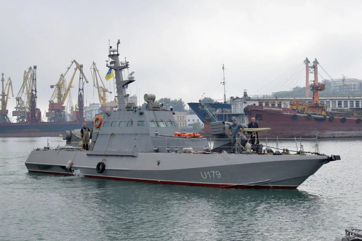 В Азовском море создали надводный дивизион ВМСУ