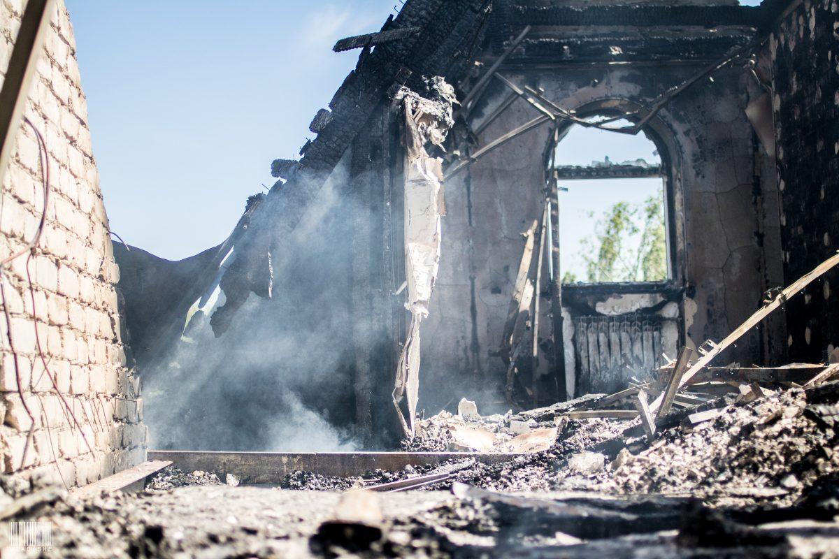 Стали известны последствия обстрела Старомихайловки в ДНР