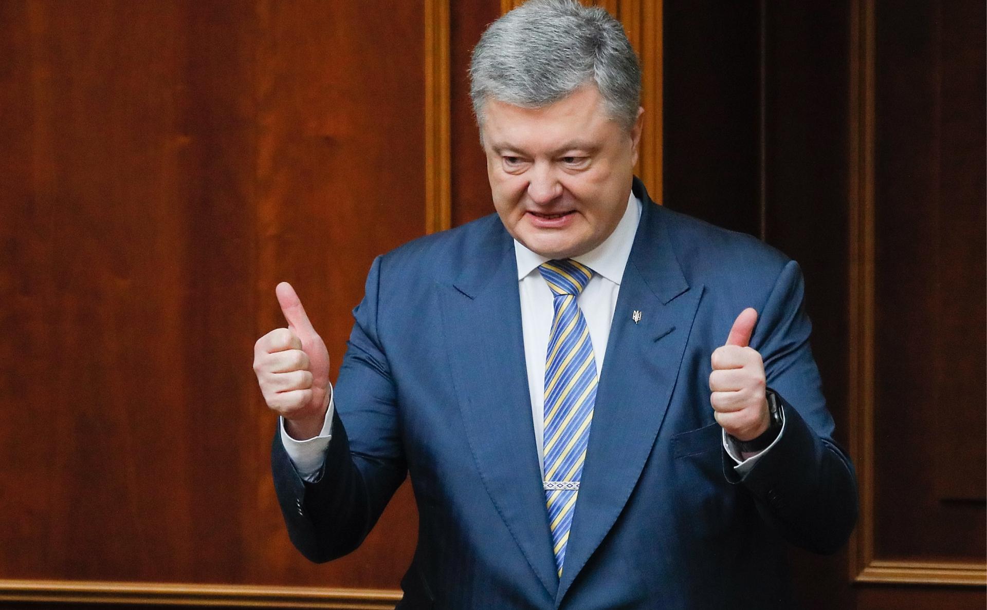 Порошенко потребует ввести санкции против газовых поставок из России