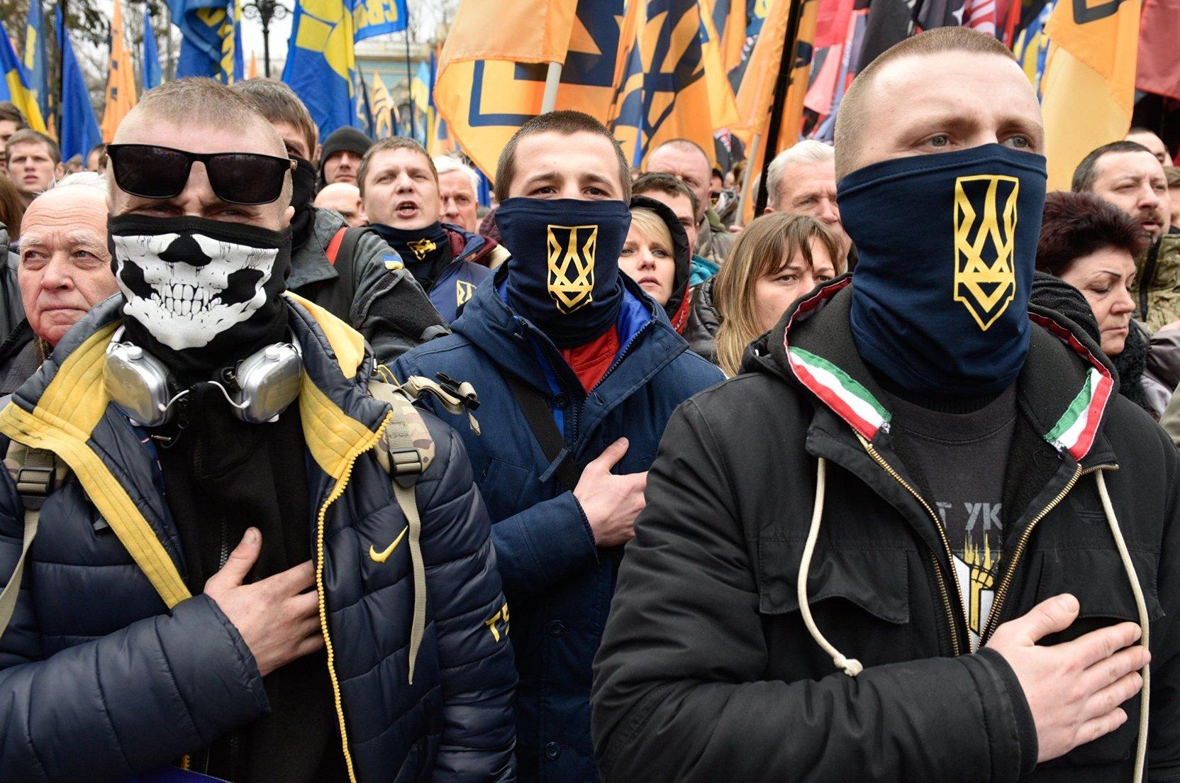 Украина не способна противостоять националистам