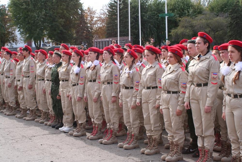 Юнармейцы Луганской Народной Республики