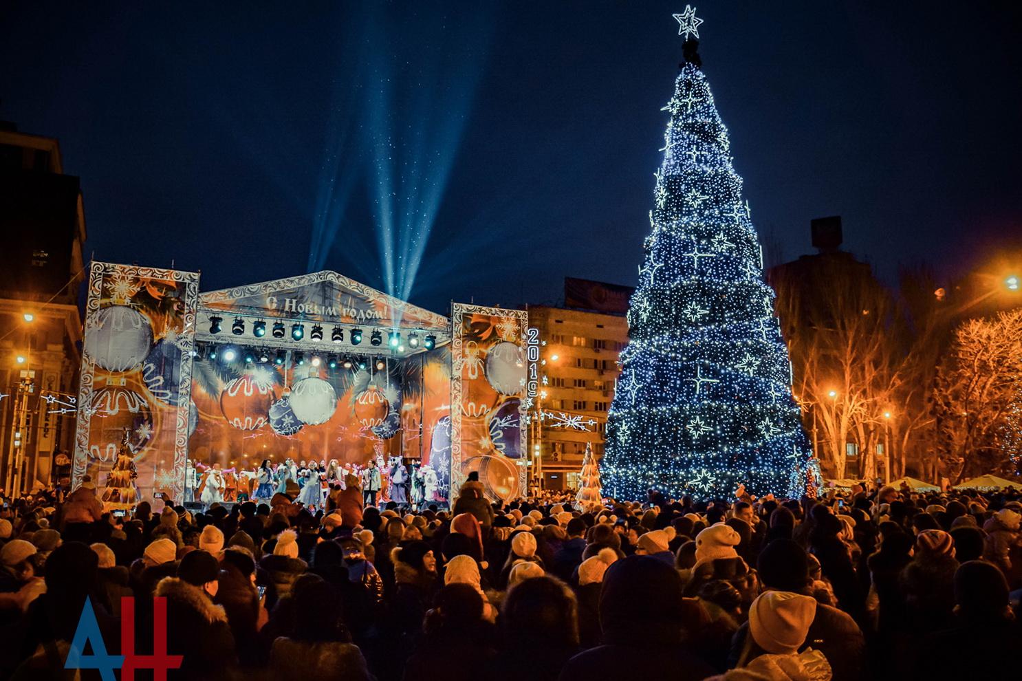 Праздничные мероприятия в Новый Год и Рождество прошли в ДНР без грубых нарушений – МВД