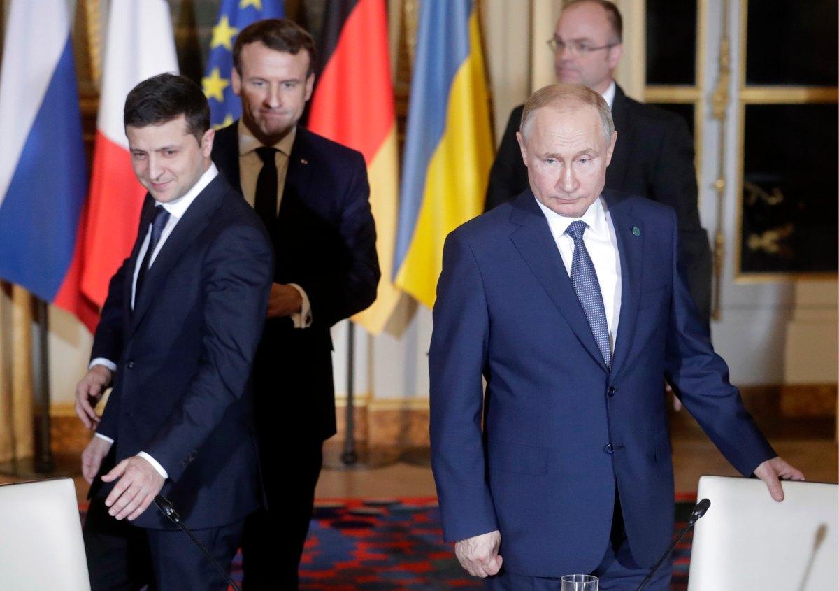 Владимир Путин и Зеленский провели телефонный разговор