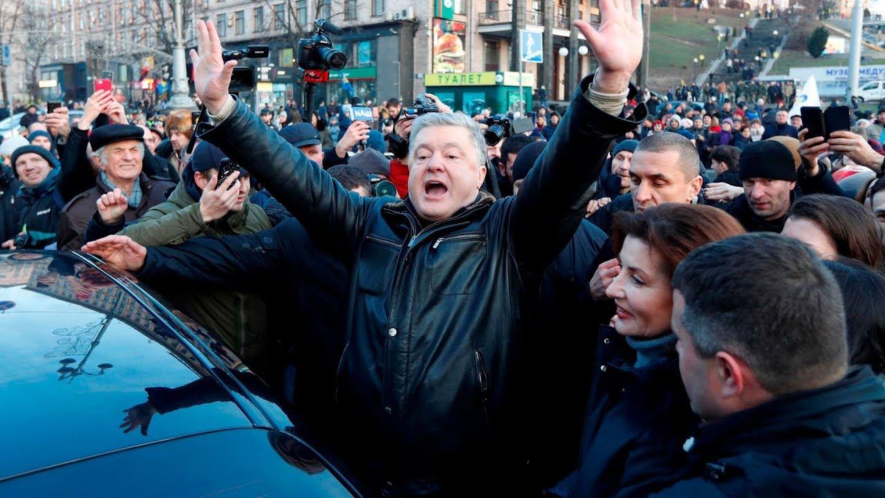 Партия Порошенко вышла на второе место по популярности на Украине