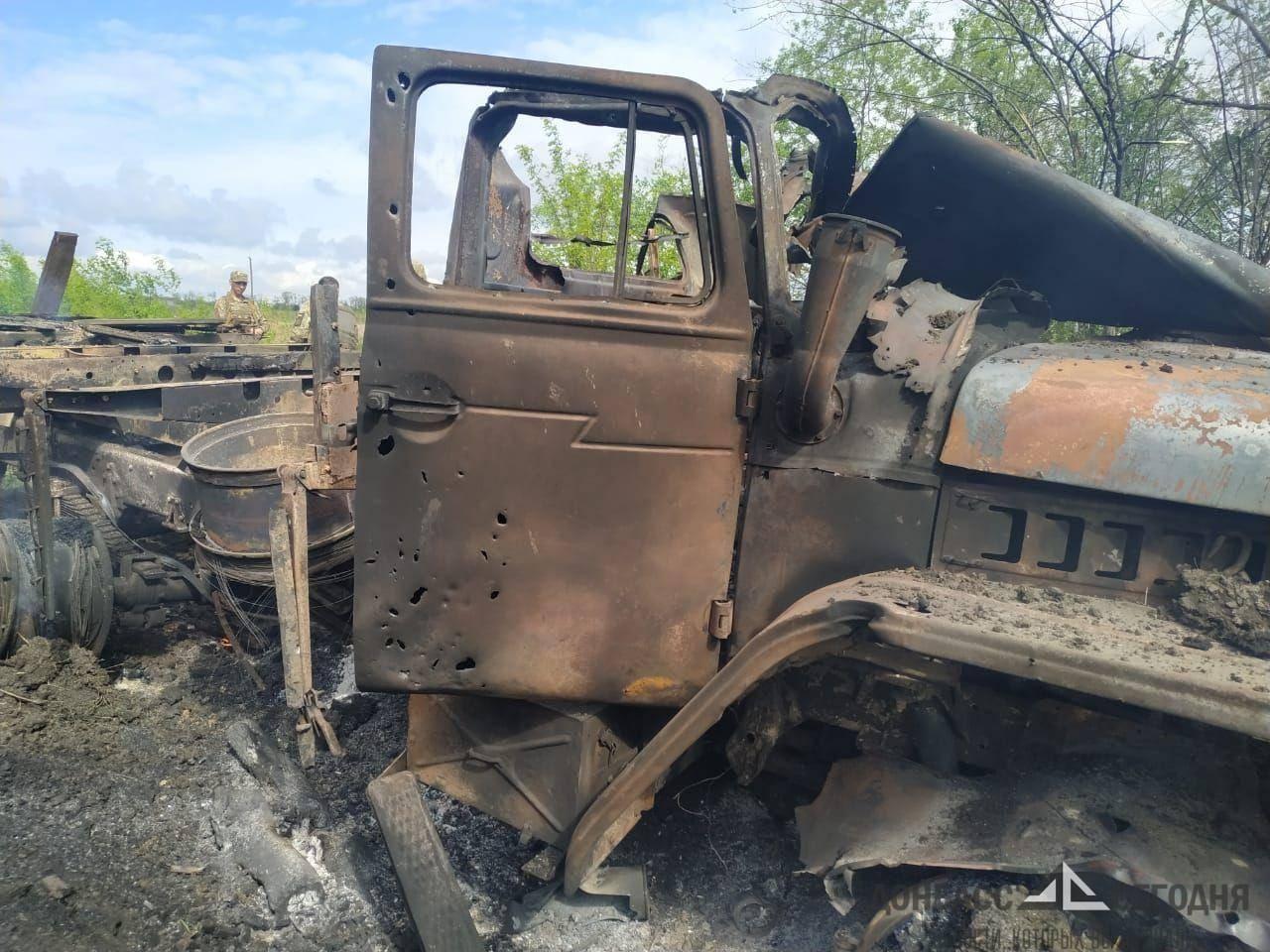 В штабе ООС пообещали отомстить за прямое попадание мины в грузовик ВСУ
