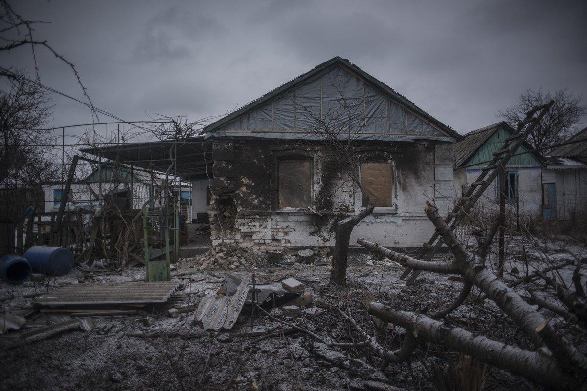 Восемь домов и два автомобиля повреждены на западе Донецка в результата обстрела со стороны ВСУ
