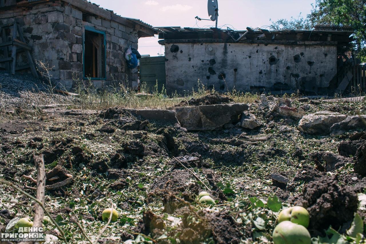 В результате обстрела со стороны ВСУ ранена мирная жительница Еленовки